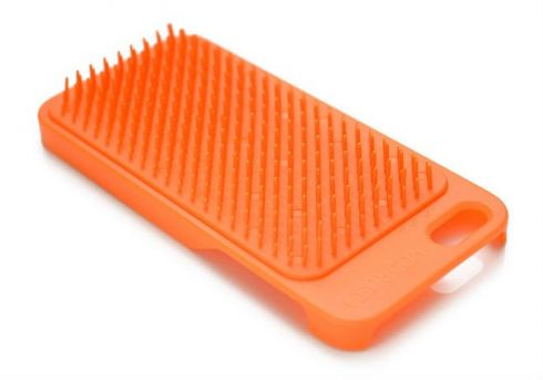 Як розчесати волосся мобільним телефоном?