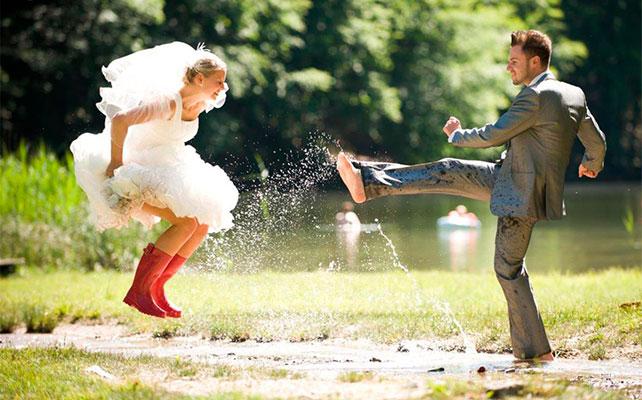 Слёзы невесты или почему дождь на свадьбе не помеха?!