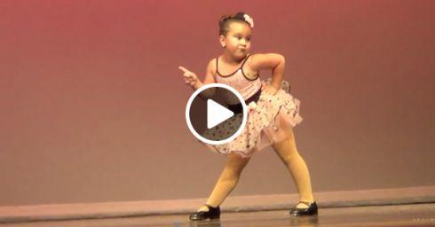 Танець 6-річної дівчинки: 8 мільйонів переглядів за 2 дні [ВІДЕО]