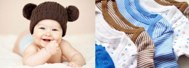 Одеваем новорожденных
