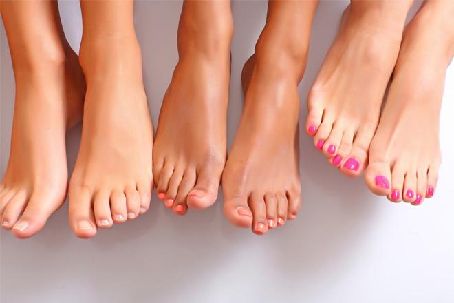 4 правила для здорових стоп та нігтів