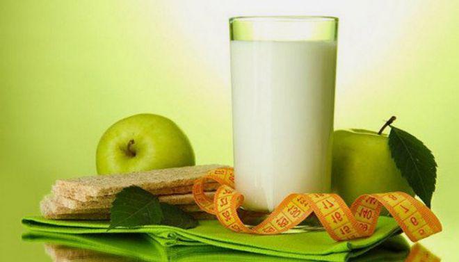 Кефірно-яблучна дієта для схуднення і красивої шкіри