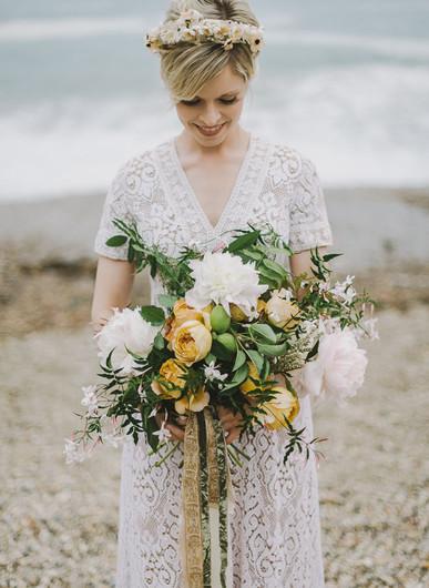 Букет нареченої: цікаві ідеї 2015