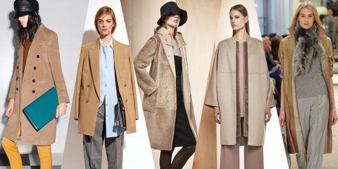Хіт сезону – пальто кольору camel