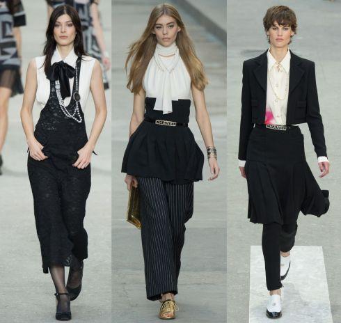 Чорно-білі комплекти Chanel [ФОТО]