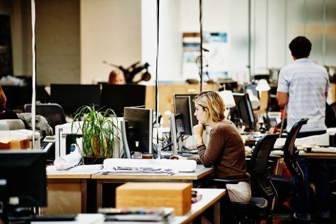 9 правил офісного життя: оpen space