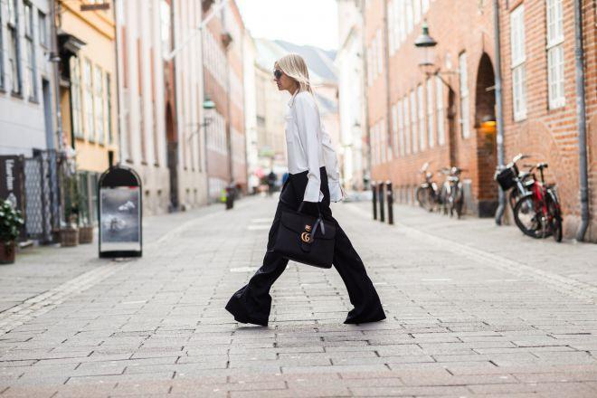 З чим носити чорні брюки: кращі ідеї від модних блогерів (ФОТО)
