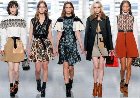 Модні сукні: зима 2015