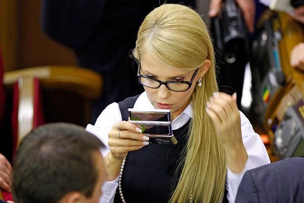 Смена имиджа Юлии Тимошенко