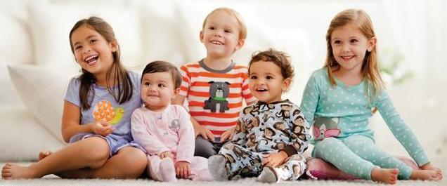 Одежда Carters — довольна мама, счастлив ребенок!