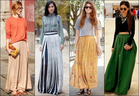 Модний хіт весни: спідниці-максі