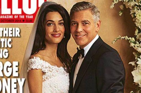 Весільна сукня Амаль Аламуддін потрапило в колекцію Oscar De La Renta
