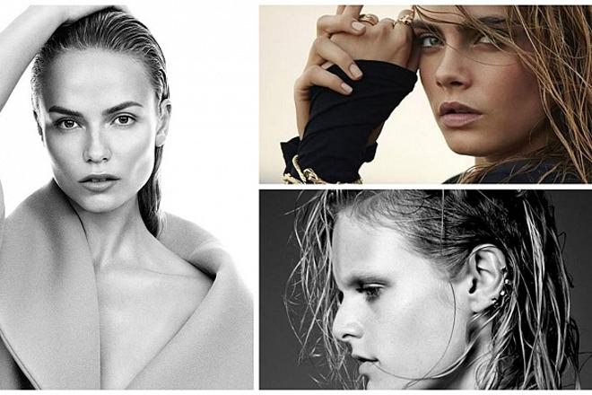 Модний тренд: мокре волосся