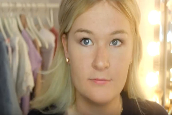 Як виглядає дівчина з 100 шарами тонального крему?