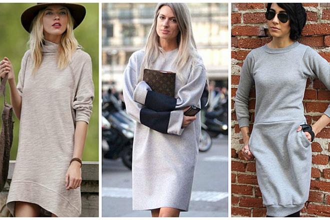 Стильно та тепло: в моді флісові сукні [ФОТО]