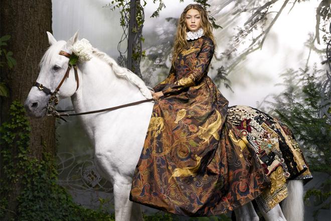 Немов принцеса: Джіджі Хадід у казковій фотосесії [ФОТО]