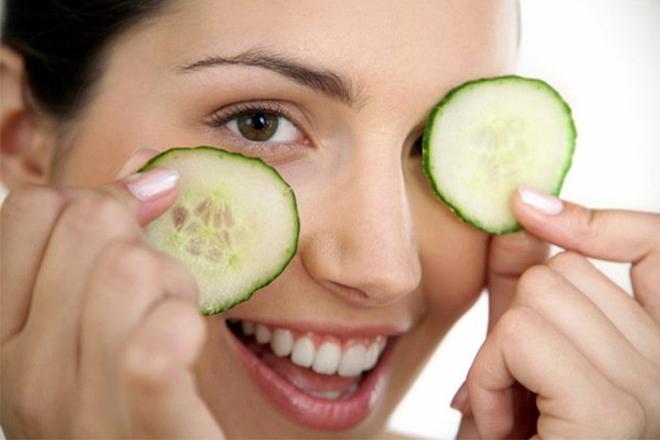 Огіркова маска для чистої шкіри