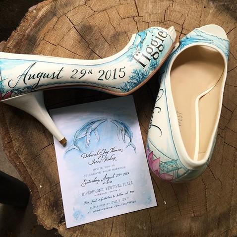 Весільні туфлі, про які мріє будь-яка наречена [ФОТО]