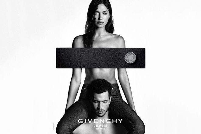 Оголена Ірина Шейк знялась в рекламній кампанії Givenchy [ФОТО]