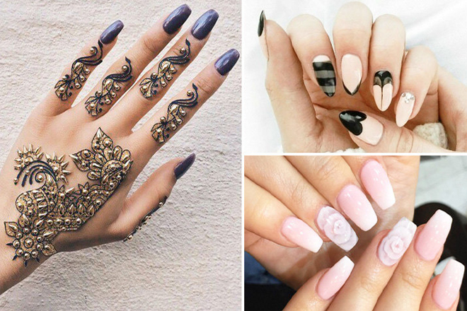 3 варіанти манікюру для довгих нігтів