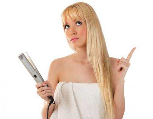 Як випрямити волосся не пошкоджуючи його