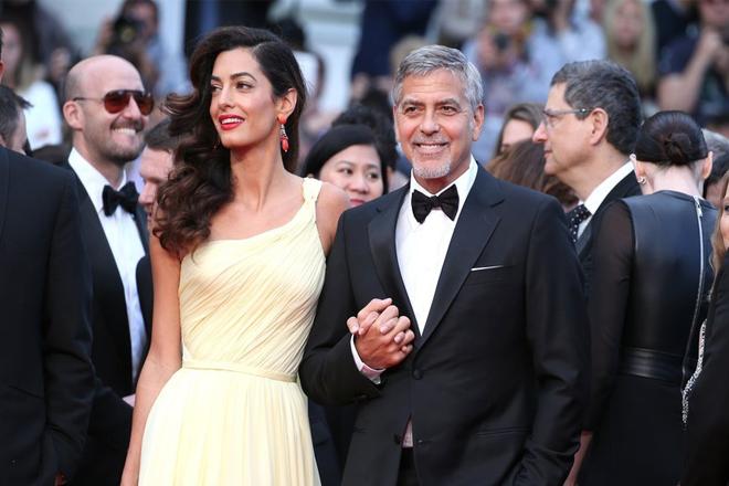 Вагітна: Амаль Клуні подарує коханому первістка