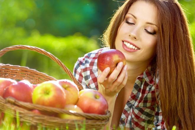 Яблучна дієта врятує тебе від акне