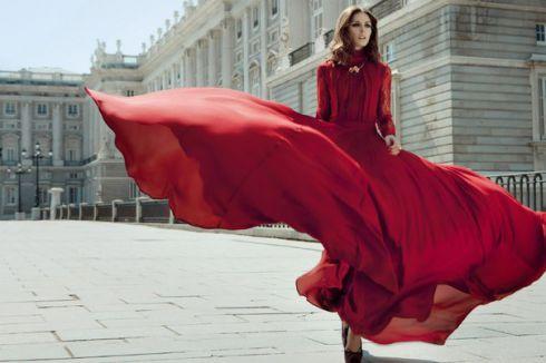 Пристрасний тренд весни 2015: червона сукня
