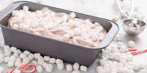 Святковий рецепт морозива з маршмеллоу