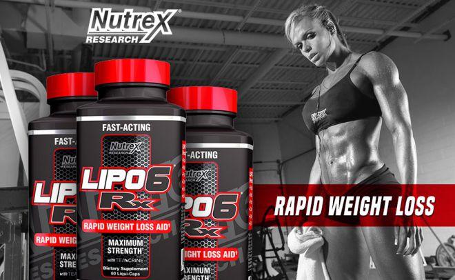 Lipo-6RX - революционный жиросжигатель