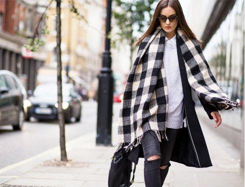 Як правильно стильно зав'язувати хустку, шарф та палантин
