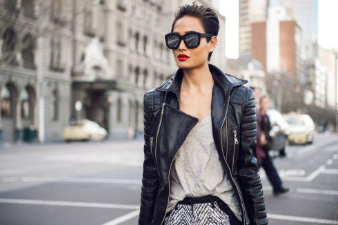 Хіт весни: модні шкіряні куртки