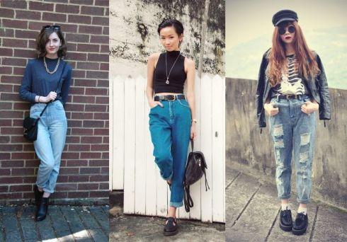 З чим носити вінтажні джинси  ФОТО   b08f3f1118f26