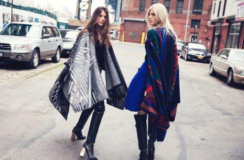 Тренд сезону – пальто-плед