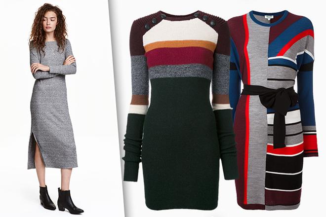 276de9605250f2 Стильно та тепло: трикотажні сукні для осені | МіЛеді | Сайт про ...