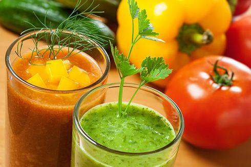 Овочеві соки для швидкого схуднення