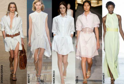 Платье-рубашка - тренд лета 2014