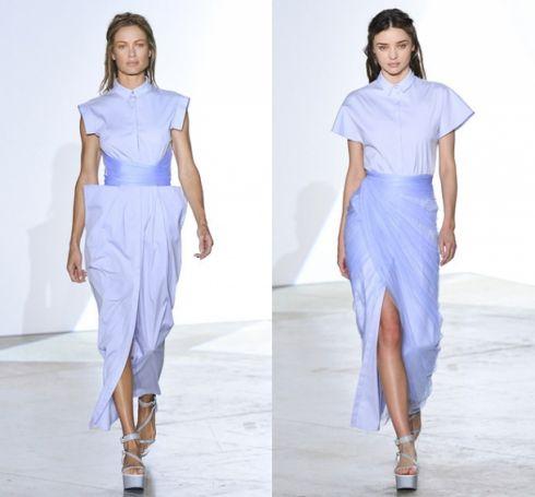 Платье-рубашка Vionnet