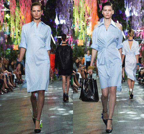 Платье-рубашкаCristian Dior