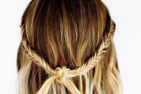 Проста зачіска на кожень день у фото