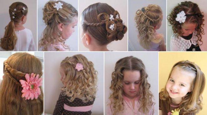 Детские украшения для волос ручной работы