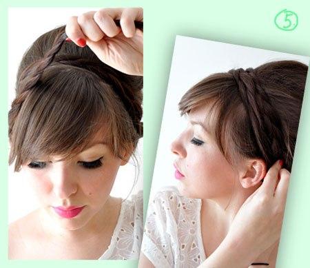 Об'ємний пучок з косами [ФОТО]