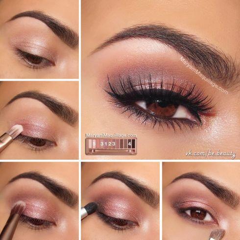 3 правила макияжа с пастельными тенями