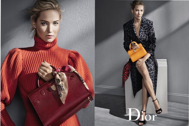 Ефектна Дженніфер Лоуренс знялась у новій рекламі Dior [ФОТО]