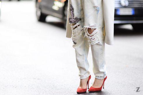 Як зробити модні рвані джинси самостійно