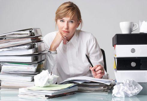 На замітку кар'єристці: як зберегти здоров'я на роботі?