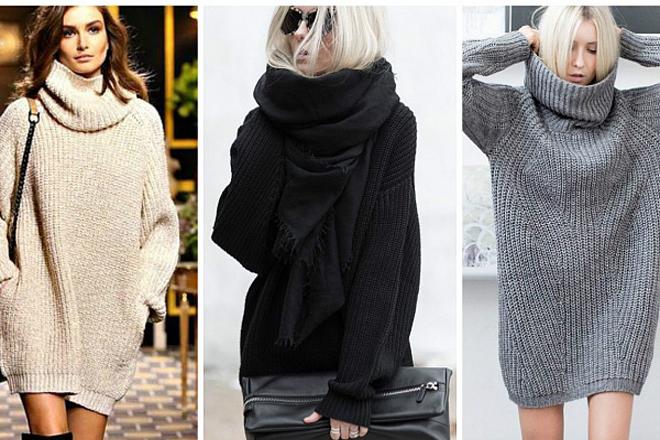 Модний светр оверсайз: з чим його поєднати?