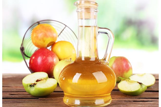 Як яблучний оцет допоможе при висипанні?