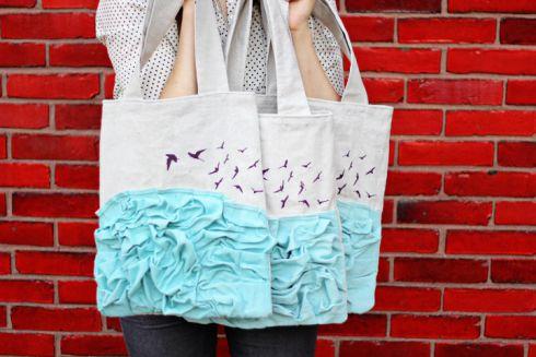 10 способів прикрасити стару сумку