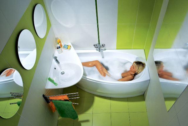 Как сделать маленькую ванную функциональной и стильной